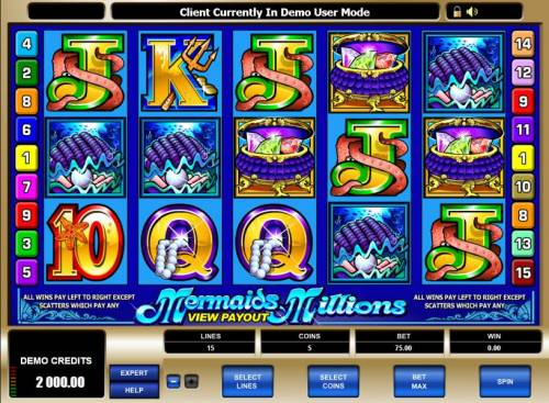 Mermaids Millions review on Big Bonus Slots