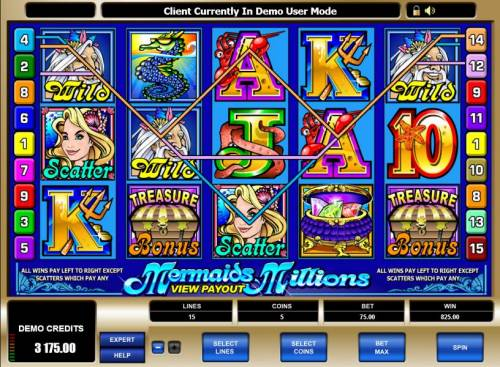 Mermaids Millions review on Big Bonus Slots