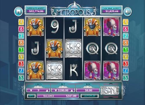 Metropolis review on Big Bonus Slots