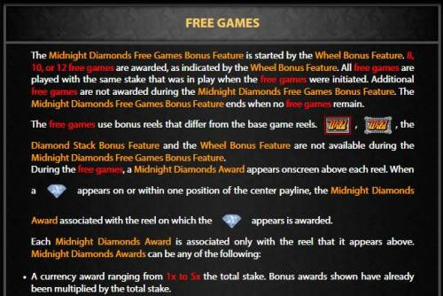 Midnight Diamonds review on Big Bonus Slots