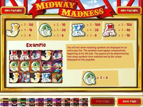 Midway Madness review on Big Bonus Slots