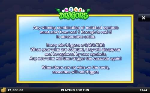Mini Dragons review on Big Bonus Slots