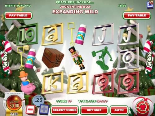 Misfit Toyland review on Big Bonus Slots