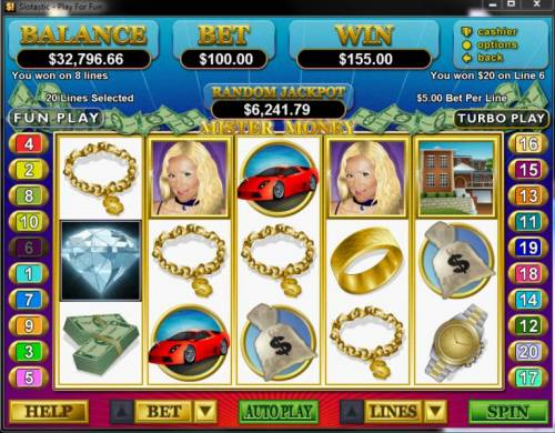 Mister Money review on Big Bonus Slots