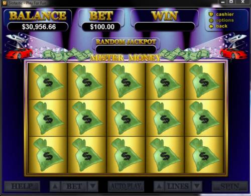 Mister Money Big Bonus Slots