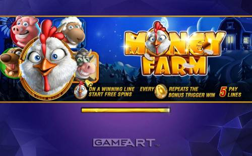 Money Farm Big Bonus Slots Introduction