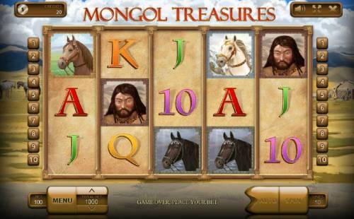 Mongol Treasures review on Big Bonus Slots