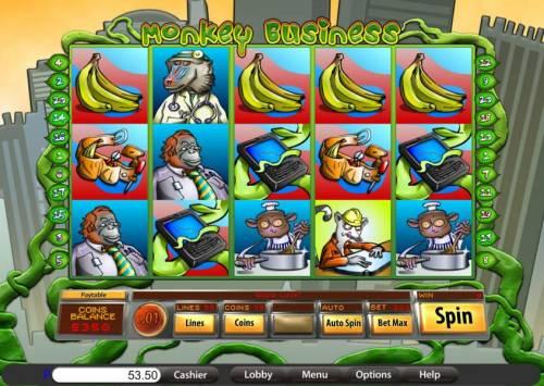 Monkey Business review on Big Bonus Slots