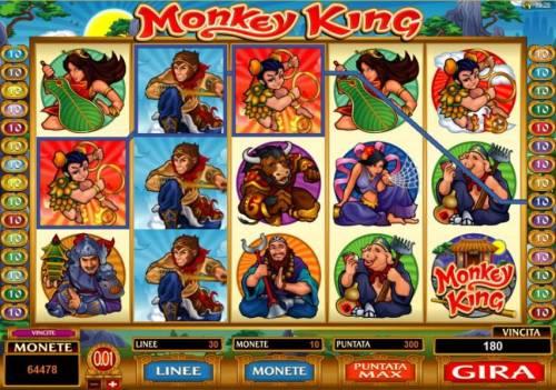 Monkey King review on Big Bonus Slots