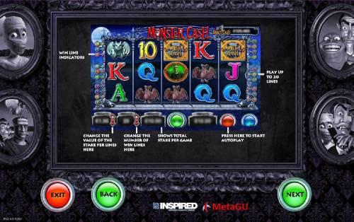 Monster Cash Big Bonus Slots How to Play