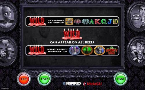 Monster Cash Big Bonus Slots Wild Symbol Rules