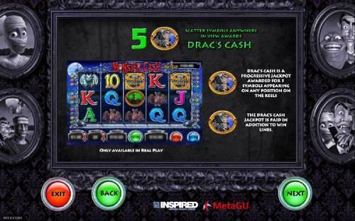 Monster Cash Big Bonus Slots Dracs Cash Rules