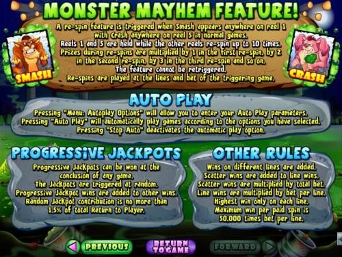 Monster Mayhem review on Big Bonus Slots