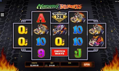 Monster Wheels review on Big Bonus Slots