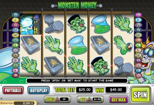 Monster Money review on Big Bonus Slots