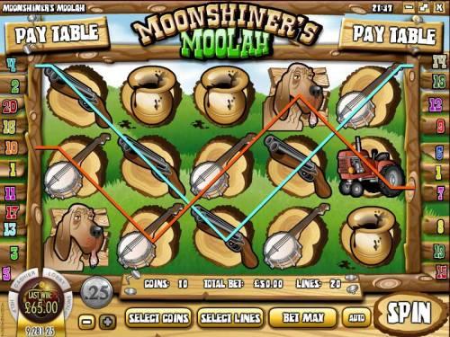 Moonshiner's Moolah review on Big Bonus Slots
