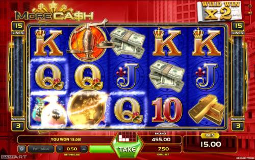 More Cash review on Big Bonus Slots