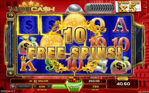 More Cash Big Bonus Slots 10 Free Games Awarded