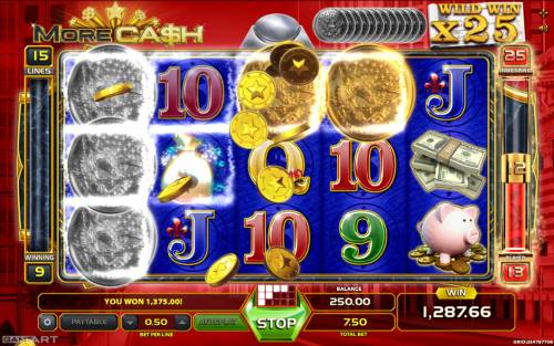 More Cash Big Bonus Slots Multiple winning paylines