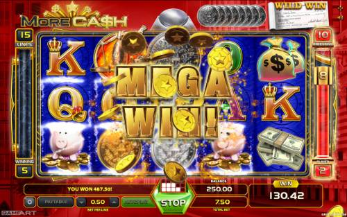 More Cash Big Bonus Slots Mega Win