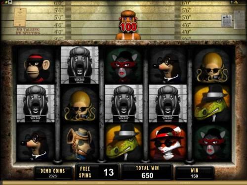 Mugshot Madness review on Big Bonus Slots