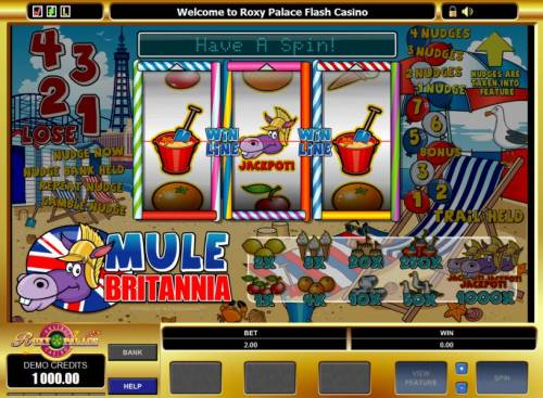 Mule Britannia review on Big Bonus Slots