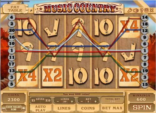 Music Country review on Big Bonus Slots
