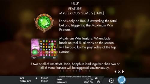 Mysterious Gems review on Big Bonus Slots
