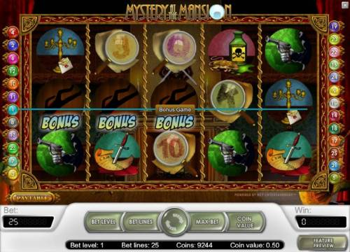 Mystery At The Mansion review on Big Bonus Slots