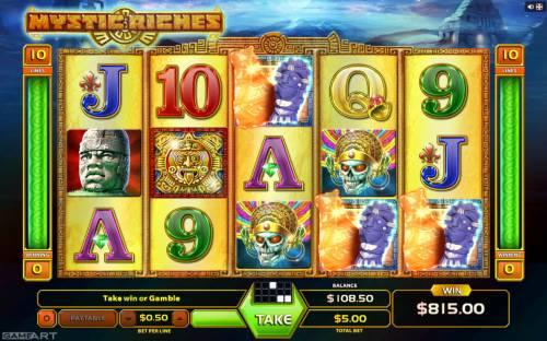 Mystic Riches review on Big Bonus Slots