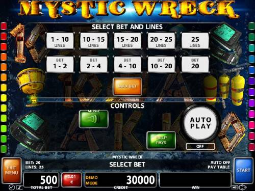 Mystic Wreck Slot Machine - Play this Game for Free Online