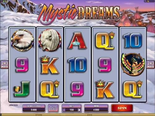 Mystic Dreams review on Big Bonus Slots