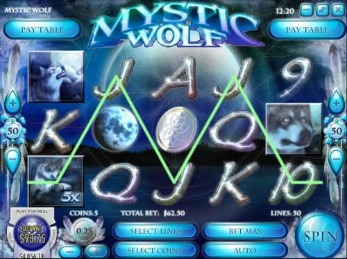 Mystic Wolf review on Big Bonus Slots