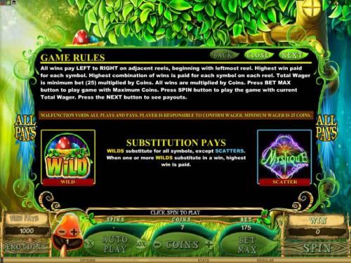 Mystique Grove review on Big Bonus Slots