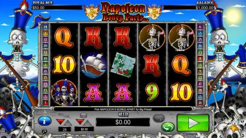 Napoleon Boney Parts review on Big Bonus Slots