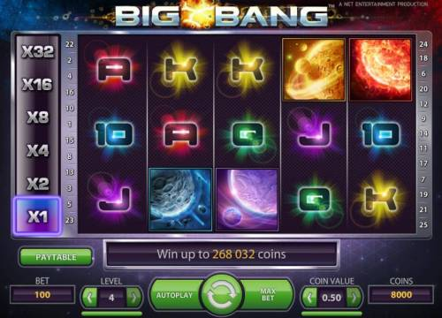 Big Bang review on Big Bonus Slots