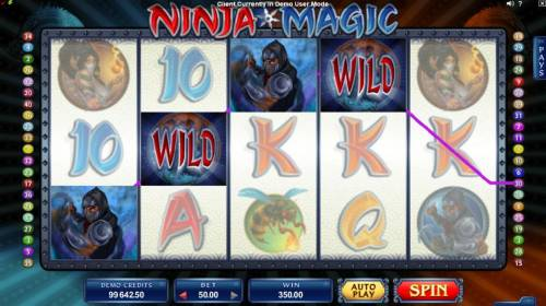 Ninja Magic review on Big Bonus Slots
