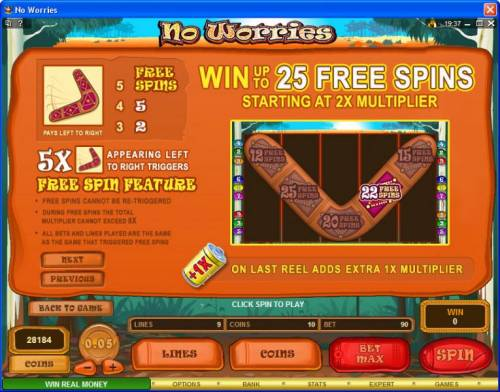 No Worries review on Big Bonus Slots