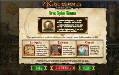 Nostradamus Prophecy Slot review on Big Bonus Slots