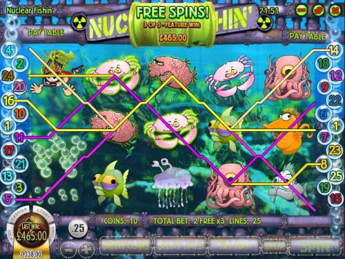 Nuclear Fishin' review on Big Bonus Slots