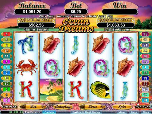 Ocean Dreams review on Big Bonus Slots
