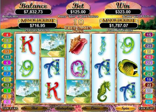 Ocean Dreams Big Bonus Slots Bonus Hit
