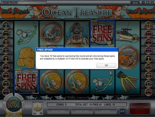 Ocean Treasure review on Big Bonus Slots