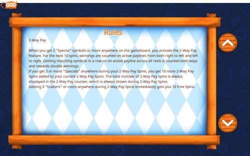 Octoberfest Big Bonus Slots General Game Rules
