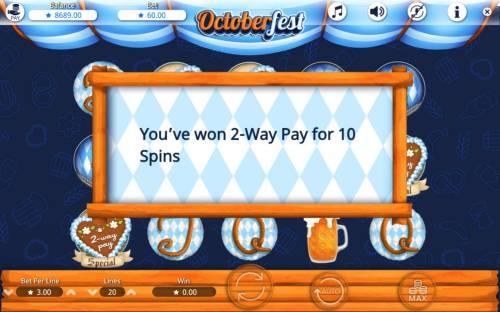 Octoberfest Big Bonus Slots 2-Way Pay Activated