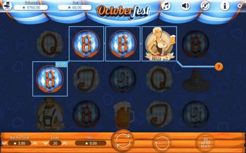 Octoberfest Big Bonus Slots Four of a kind