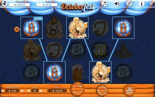 Octoberfest Big Bonus Slots Five of a Kind