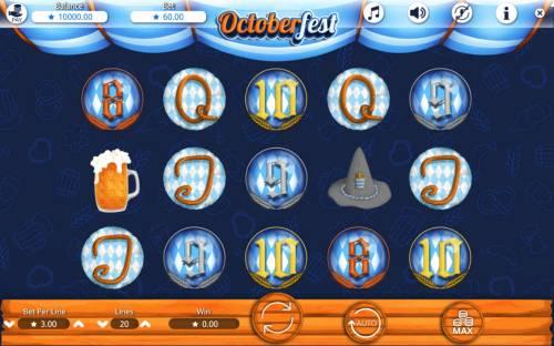 Octoberfest Big Bonus Slots Main Game Board