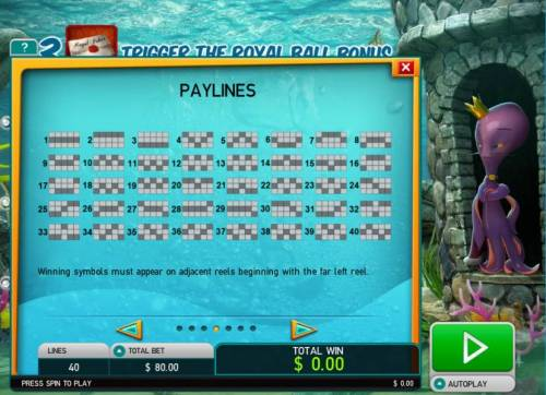 Octopus Kingdom review on Big Bonus Slots