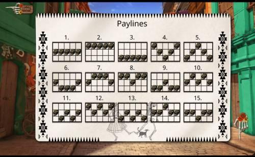 Oh Catrina Big Bonus Slots Paylines 1-15
